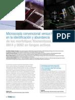 2013 - Los morfotipos filamentosos 0803, 0914 y 0092 en fangos activos..pdf