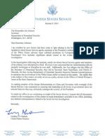 Secret Service Letter by Senator Graham