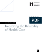 IHI Reliability White Paper 2004 RevJune06