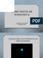 COMO INSTALAR WINDOWS 8.pptx
