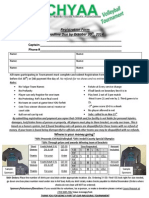 CHYAA Volleyball Tournament Registration Form