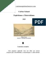 Cairbar Schutel - Espiritismo e Materialismo