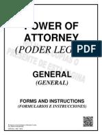 General Power of Attorney - Spanish