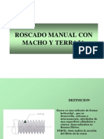 90900607-Roscado-Manual-Con-Macho-y-Terraja.ppt