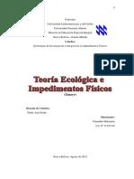 TEORIA ECOLOGICA E IMPEDIMENTOS MOTORES1.docx