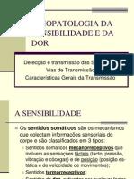 Fisiopatologia Da Sensibilidade e Da Dor