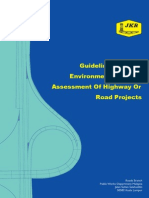 73084470 Guidelines for the Environmental Impact Assessment of Highway or Road Projects Unknown