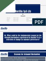 barilla spa case slides inventory logistics case barilla spa