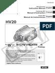 Canon HV 20 Manual