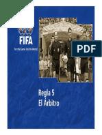 Regla 5 El arbitro.pdf