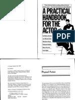 A practical Handbook for the actor