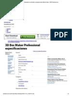 3D Box Maker Professional características y especificaciones Editor de fotos - CNET Download.pdf