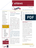 UA OMSE Med/Ed eNews v3 No. 03 OCT 2014
