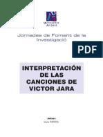 Interpretacion de las canciones de Victor Jara