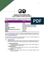 SPE Contest Manual
