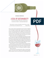 A Seal of Sustainability