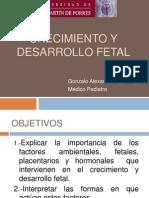CRECIMIENTO Y DESARROLLO FETAL.AGIP MEGO.2014 (2).ppt