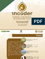 20140718 PRESENTACIÓN  INCODER DIAMANTE CARIBE CORDOBA.pptx