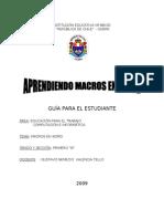 Aprendiendo Macros en Word Por Gustavo Valencia