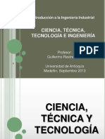 CIENCIA, TECNOLOG+ìA E INGENIER+ìA ACTUALIZADO sin TRIZ (03 SEPT 13).ppt