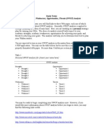DDBA-8005 Strengths Weaknesses Opportunities Threats SWOT Analysis