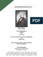 Artigos da RE Sobre Vavasseur - Poesias Espíritas