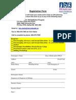 Rehabilitation Program Intake FormRev Dec 09