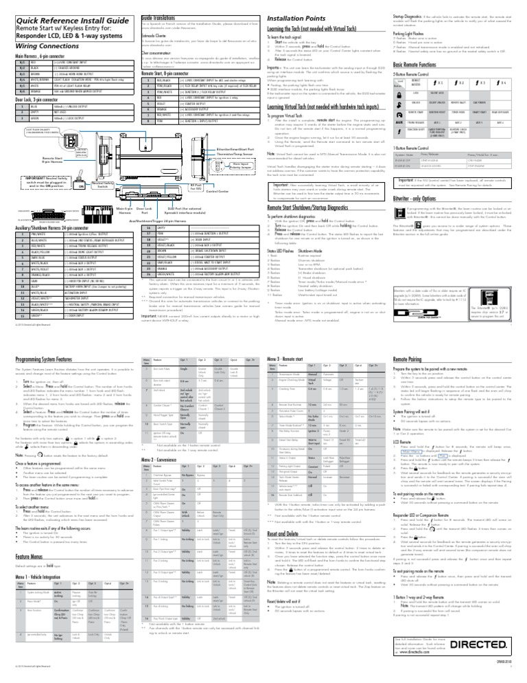 inspiration viper vsm200. Viper 4806v Install Guide  Manual Transmission Manufactured Goods Funky 4806 Wiring Diagram Gift Electrical and
