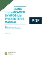 V-3 Transition Manual Oct 2014 - PlainCover