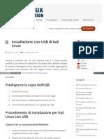 It Docs Kali Org Installing Kali Linux It Installazione Live