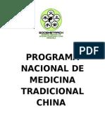 PROGRAMA NACIONAL DE MEDICINA TRADICIONAL CHINA. SOCIEMETRAC.doc