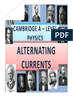 Chapter 24 Alternating Currents