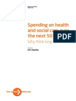 Spending on Health ... 50 Years Low Res for Web