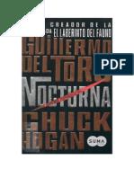 Del Toro, Guillermo & Hogan, Chuck -Nocturna 1.doc