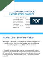 im a2 research design report