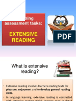 Designing Assessment Tasks - Extensive Reading 2