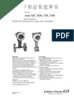 Prowirl 7 datasheet