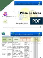 Plano acção eco-escola