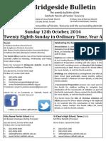 2014-10-12 - 28th Ordinary A