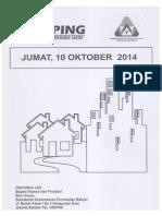Kliping Berita Perumahan Rakyat, 10 Oktober 2014
