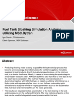 Automotive Fuel Tank Sloshing Analysis
