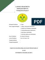Praktikum Fishew (Fisiologi Sistem Respirasi) Kelompok 3