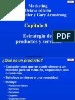CAPITULO 8 ESTRATEGIA DE PRODUCTOS Y SERVICIOS.ppt