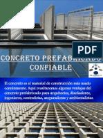 Concreto Prefabricado Confiable