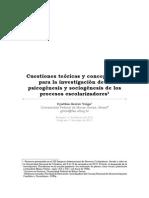 Cuestiones teóricas y conceptuales para la  investigación de la  psicogénesis y sociogénesis de los procesos escolarixadores.pdf