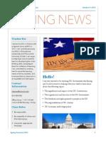 new semester newsletter