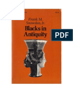 Blacks in Antiquity by Frank Snowden