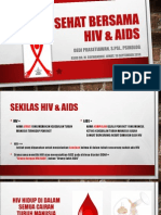 Hidup Sehat Bersama Hiv Aids