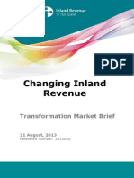 Changing Ir Transformation Market Brief