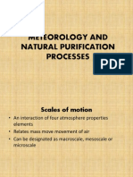 Meteorology and Natural Purification Processes1